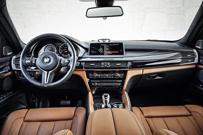 Интерьер BMW X6 M