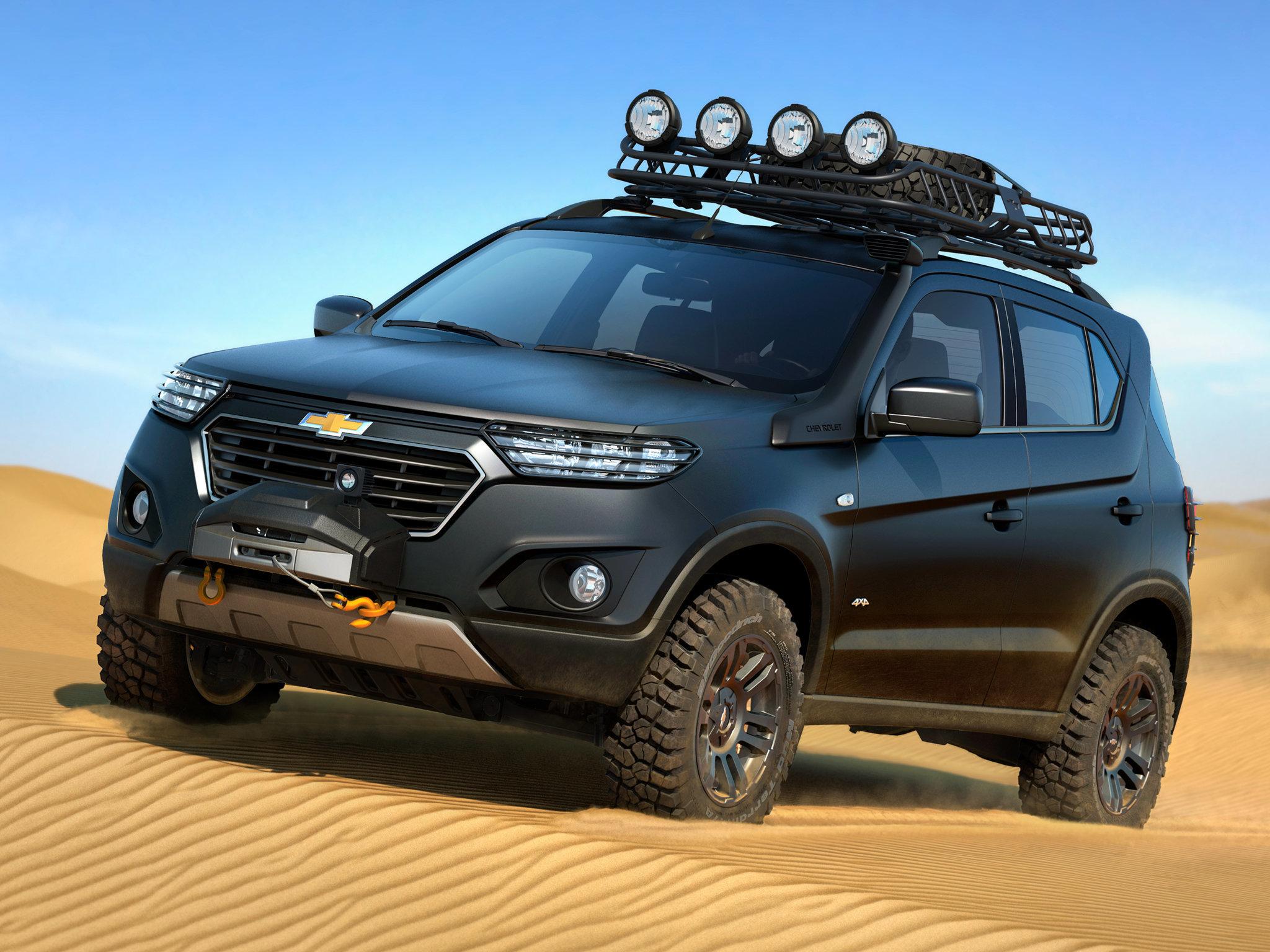 GM-АвтоВАЗ назвал стоимость обновленного поколения Шевроле Niva